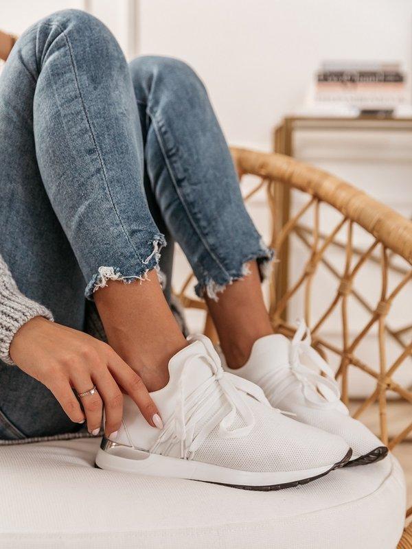Adidasy Marone Białe