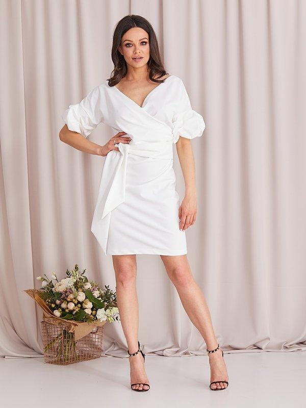 Sukienka Sinnie Ecru