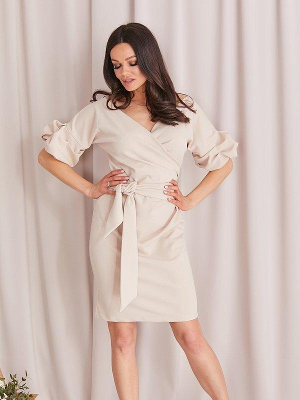 Sukienka Sinnie Beżowa