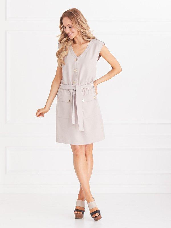 Sukienka Gigi Beżowa