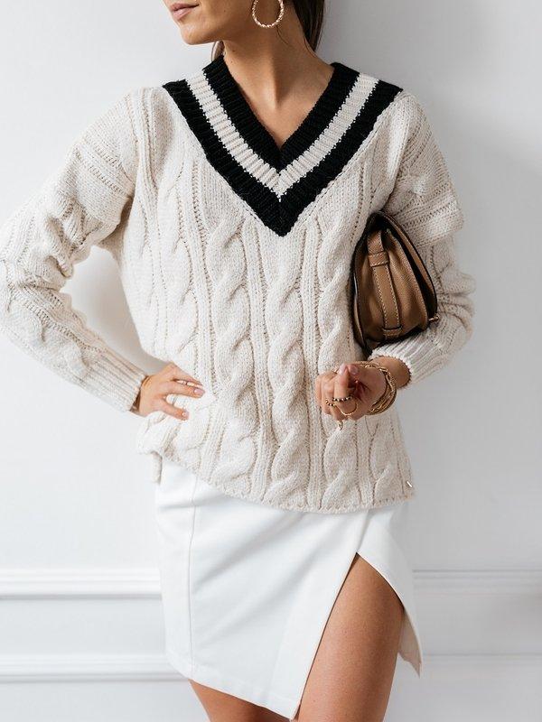 Sweter Ayra Kremowy