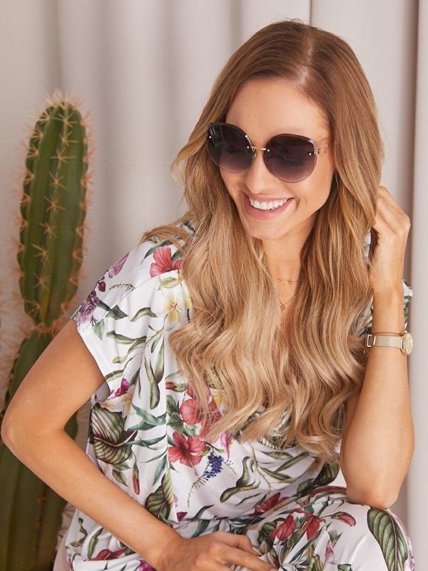 Okulary Carmen Czarne