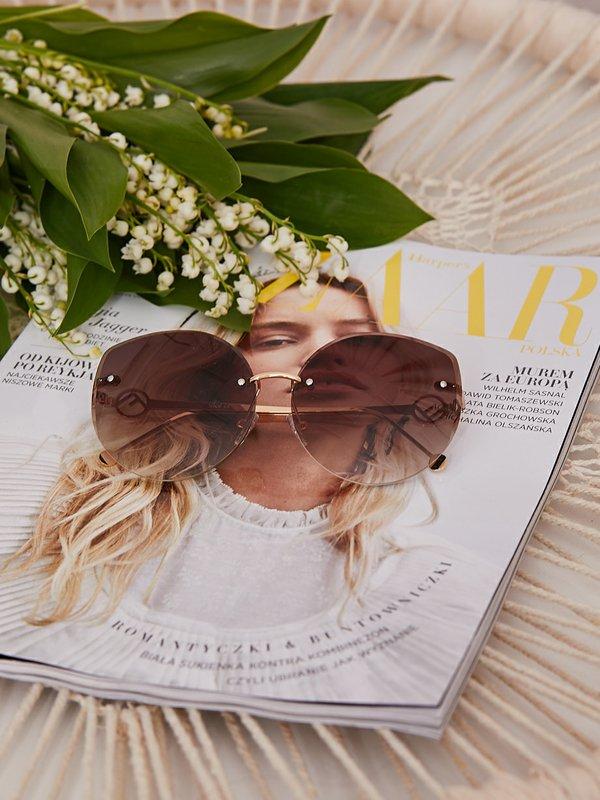 Okulary Carmen Brązowe