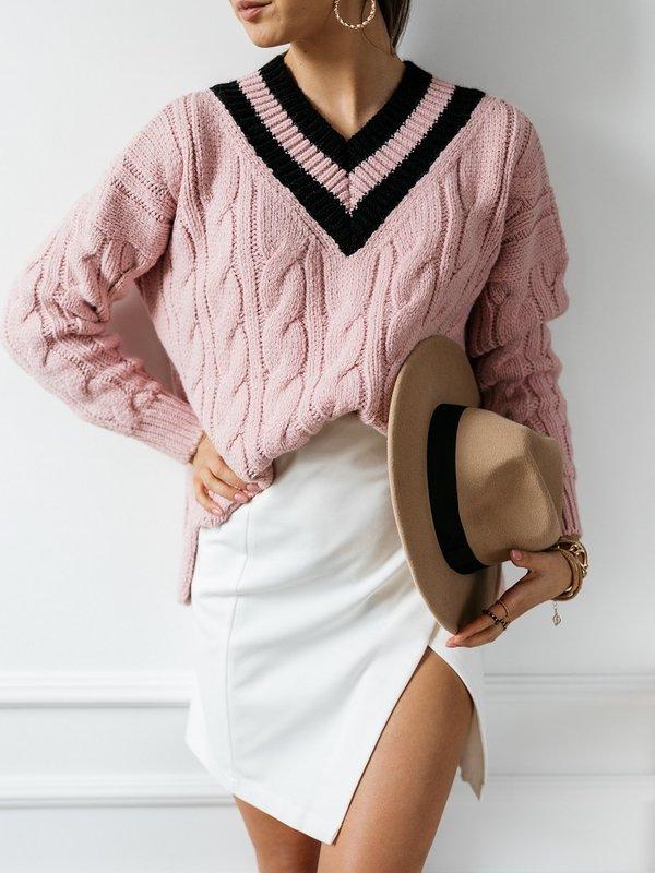Sweter Ayra Różowy