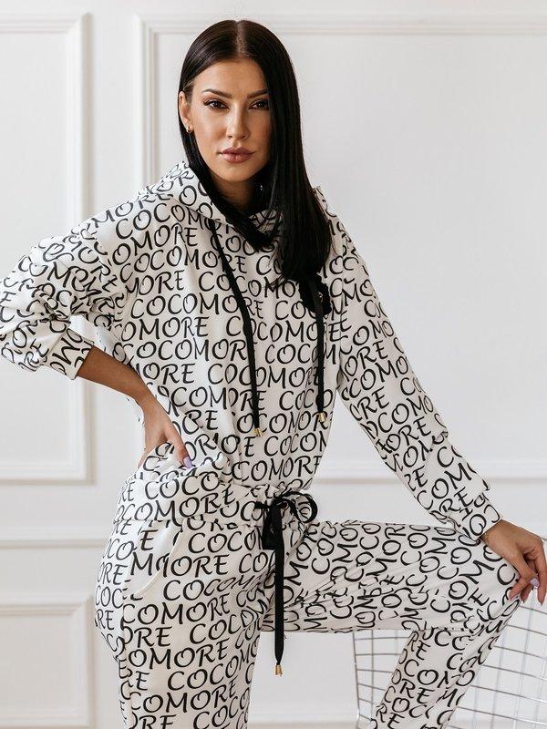 Bluza Pattern Biała