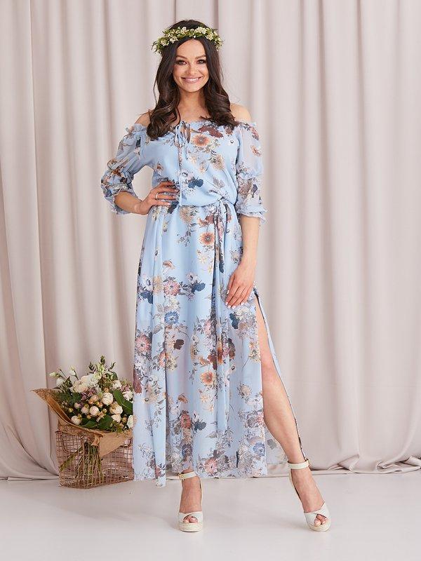 Sukienka Perli Błękitna