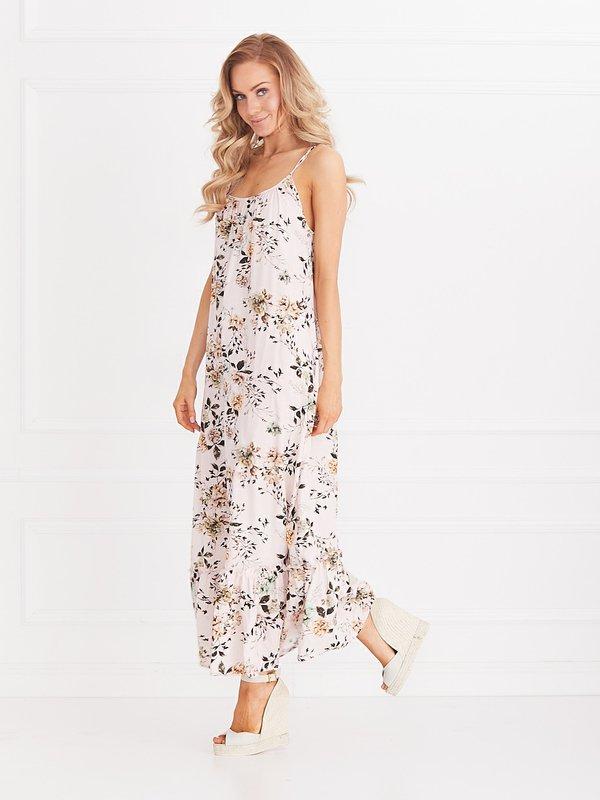 Sukienka Spring Pudrowa