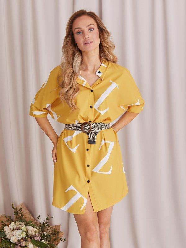 Sukienka Alpha Żółta