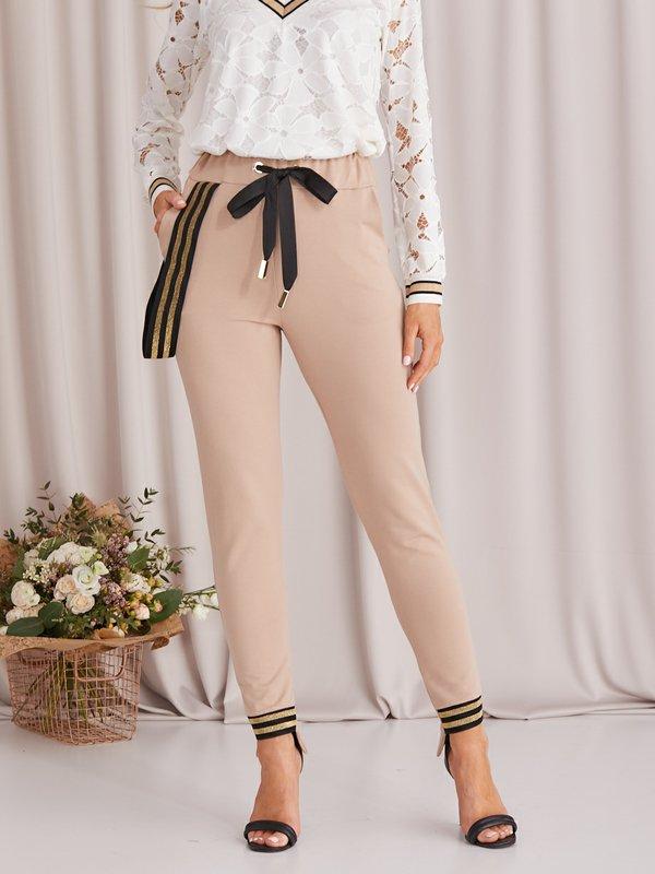 Spodnie Summer Karmelowe