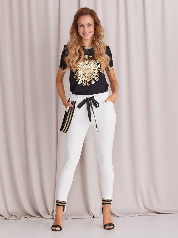 Spodnie Summer Białe