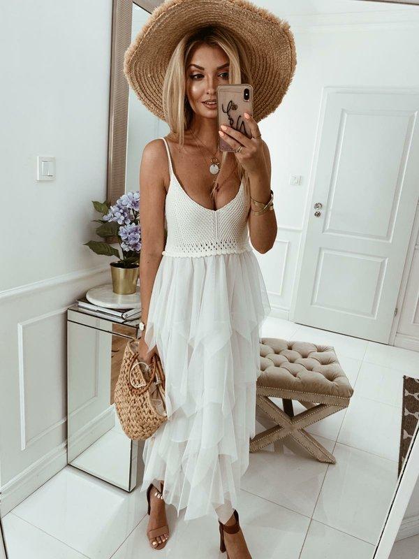 Sukienka Tahani Biała