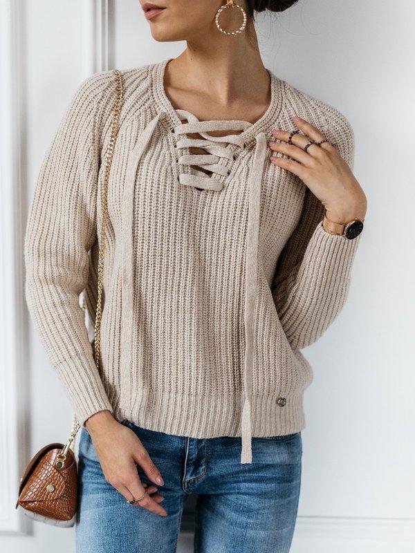 Sweter Baliano Beżowy