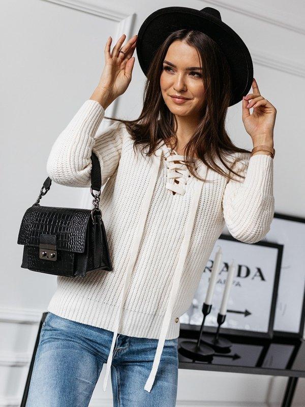 Sweter Baliano Kremowy