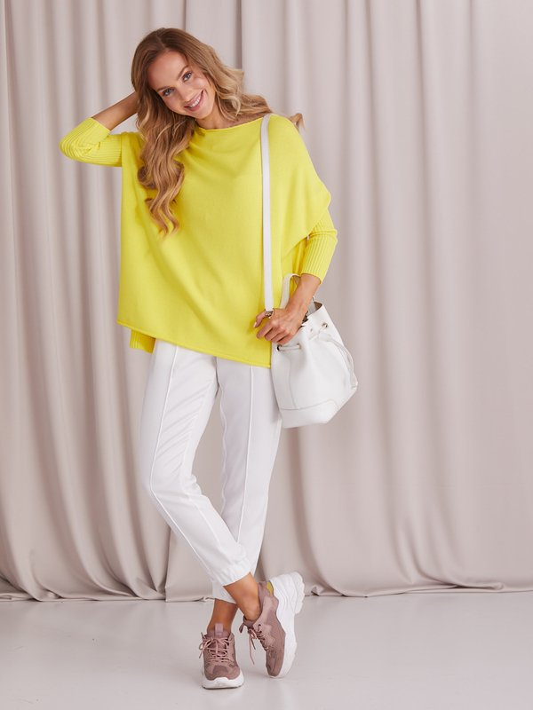 Sweter Morelle Żółty