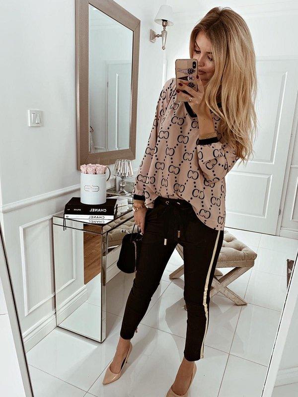 Spodnie Leria Czarne