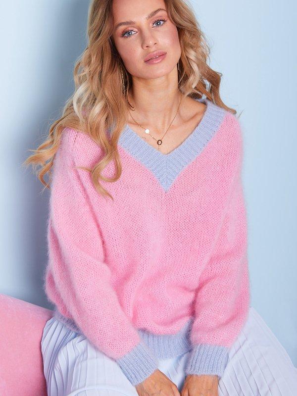 Sweter Beti Różowy