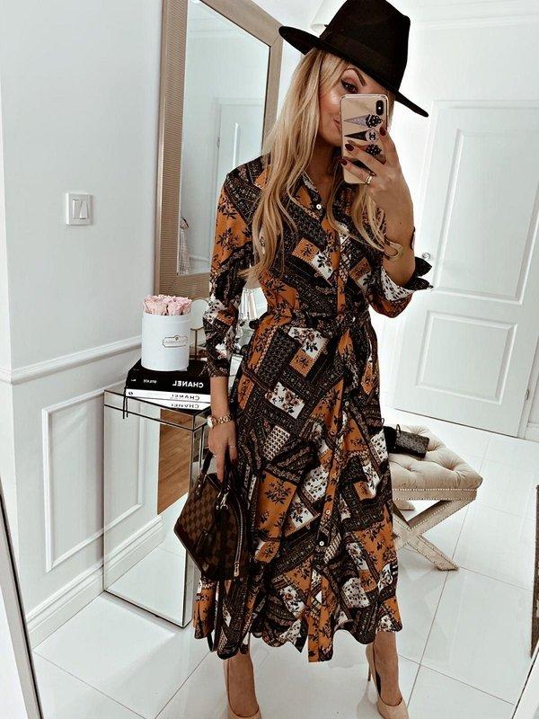 Sukienka Nina Żółta