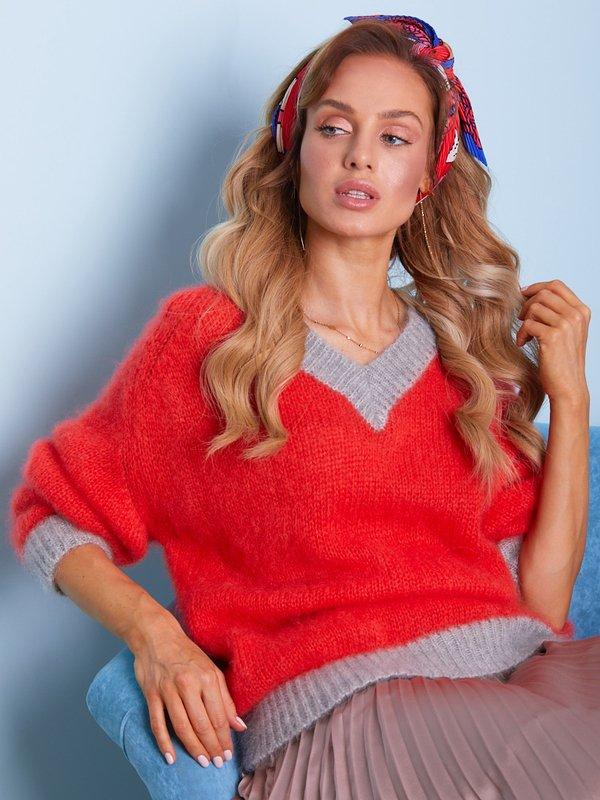 Sweter Beti Pomarańczowy
