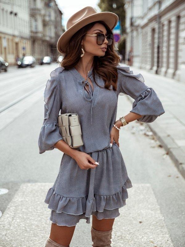 Sukienka Lajana Szara