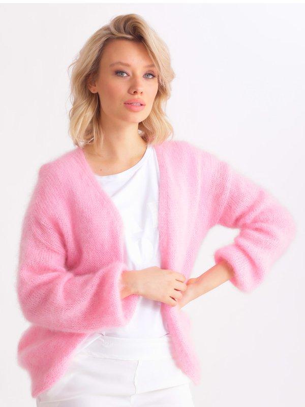 Sweter Rosalie Różowy
