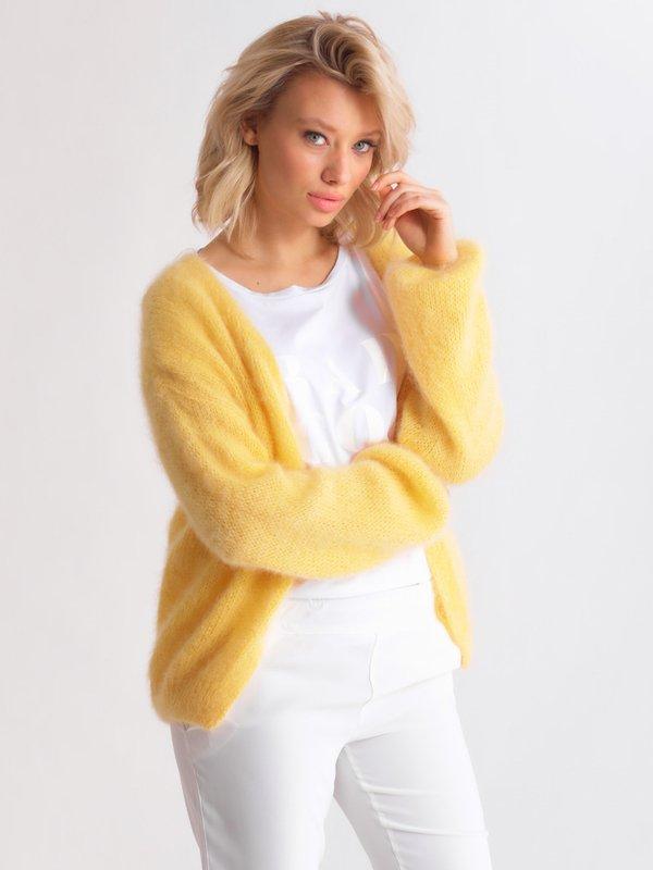 Sweter Rosalie Żółty