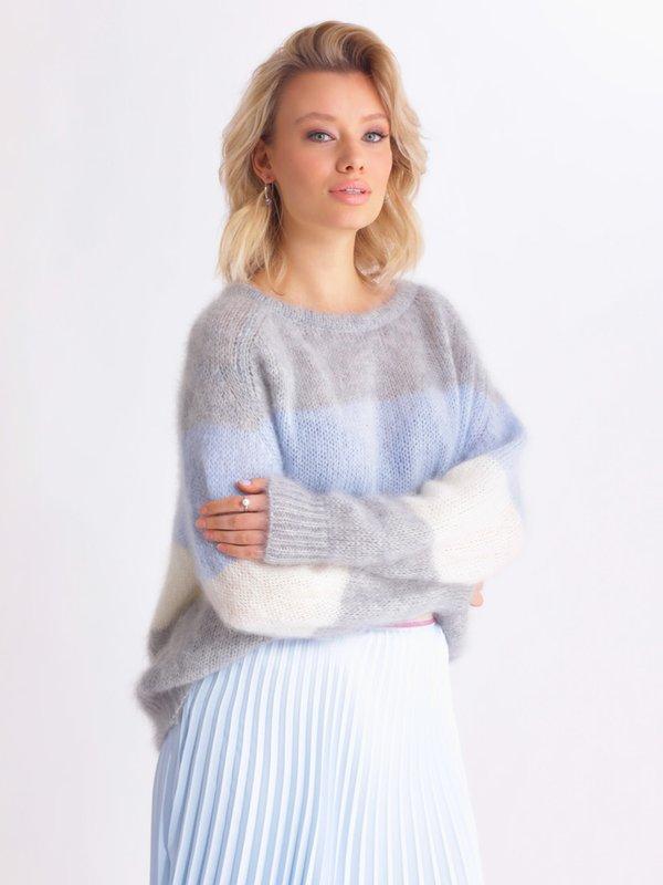 Sweter Carla Szary