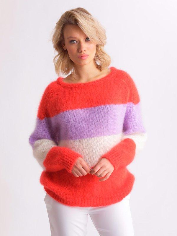 Sweter Carla Pomarańczowy