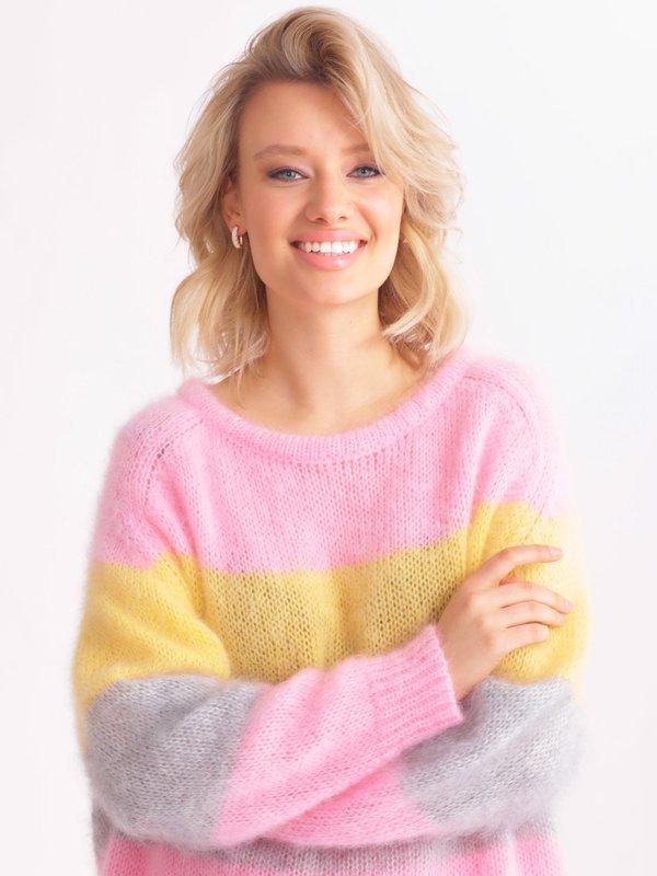 Sweter Carla Różowy
