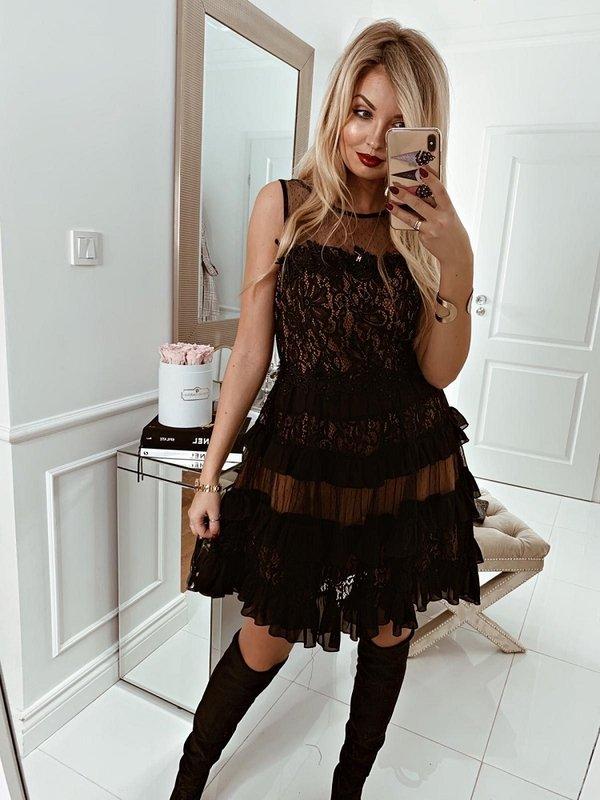 Sukienka Dalila Czarna