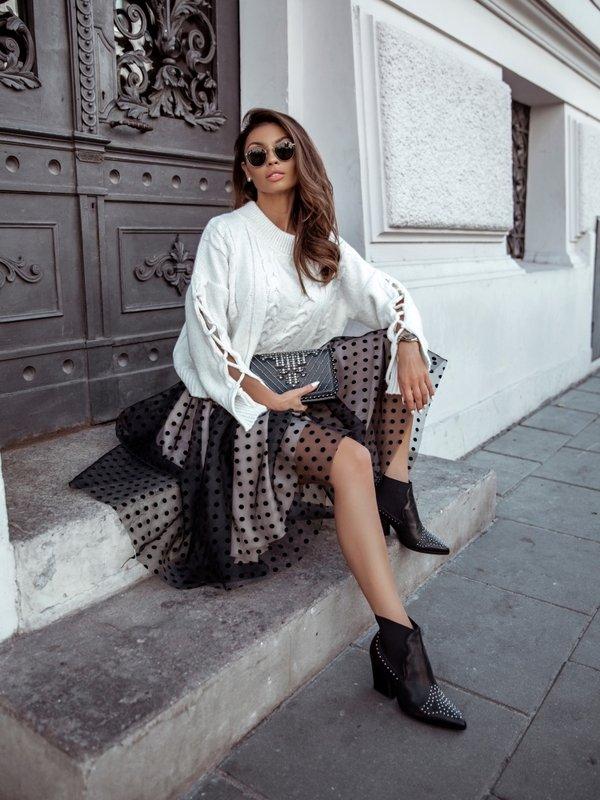 Sweter Rozalie Kremowy