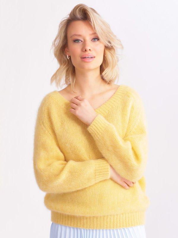 Sweter Suzi Żółty