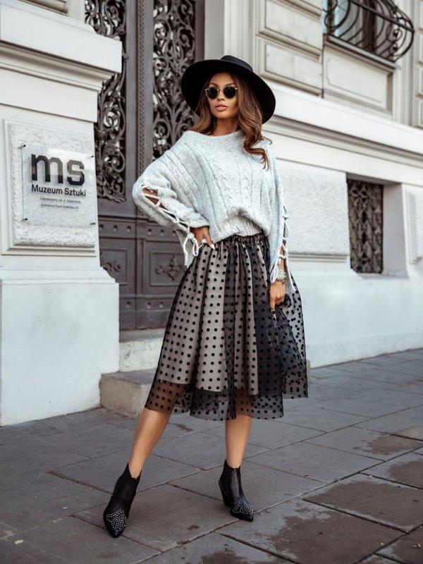 Sweter Rozalie Szary