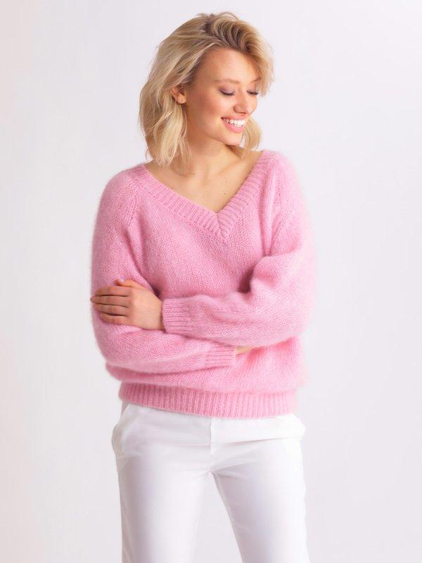 Sweter Suzi Różowy