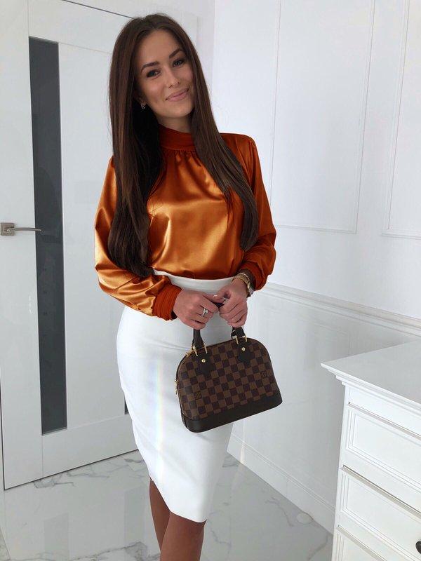 Bluzka Miray Karmelowa