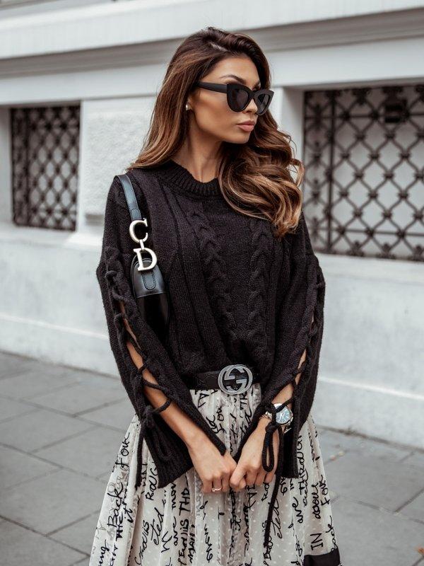 Sweter Rozalie Czarny