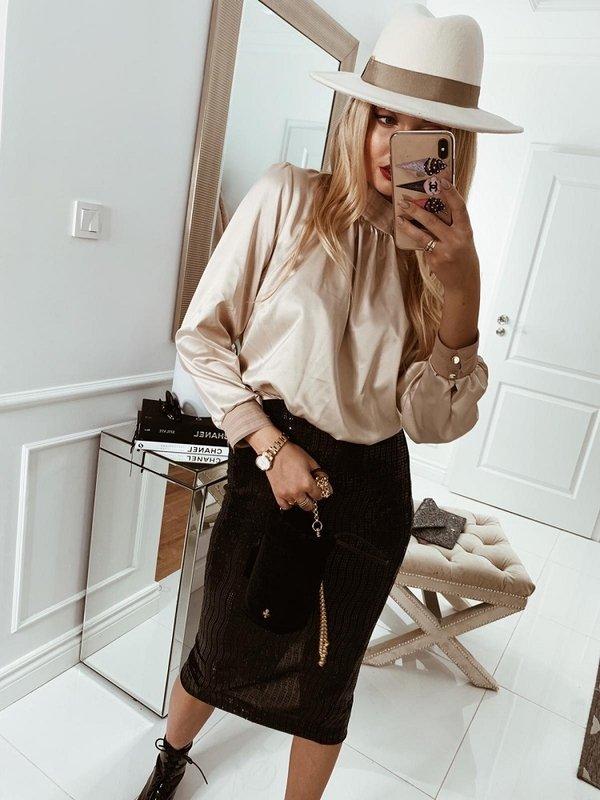 Bluzka Miray Kremowa