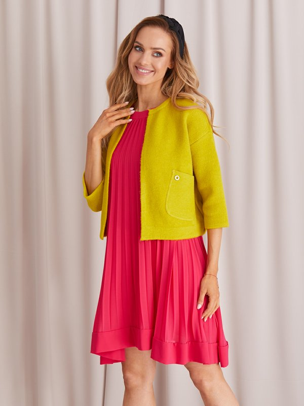 Sweter Tonia Limonkowy