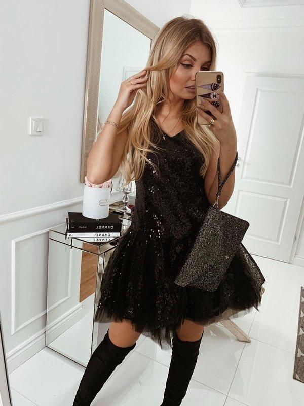 Sukienka Lirtie Czarna