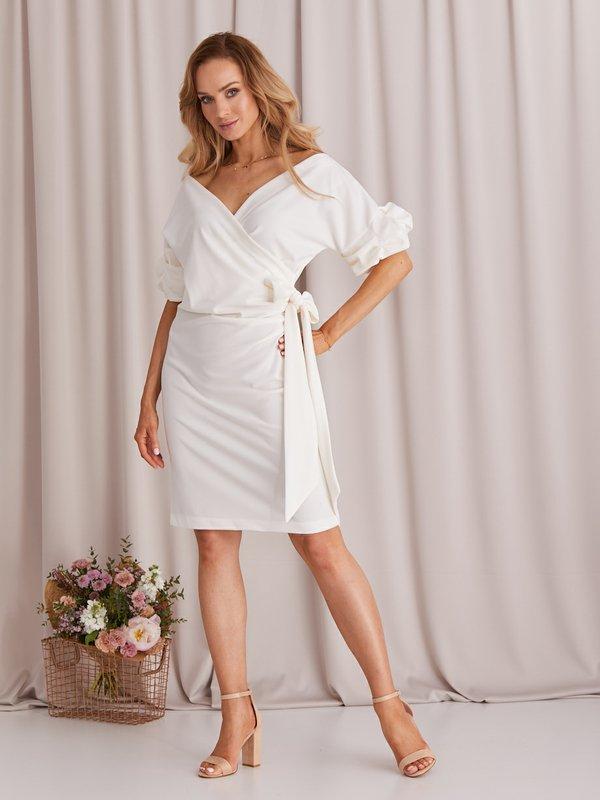 Sukienka Sinnie Kremowa