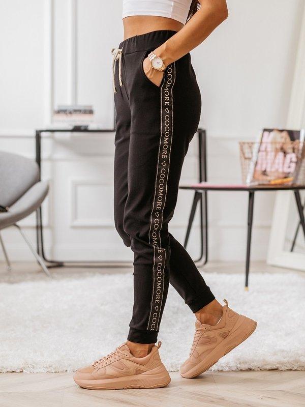 Spodnie Stay Czarne