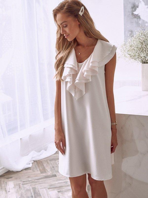 Sukienka Norie Pudrowa