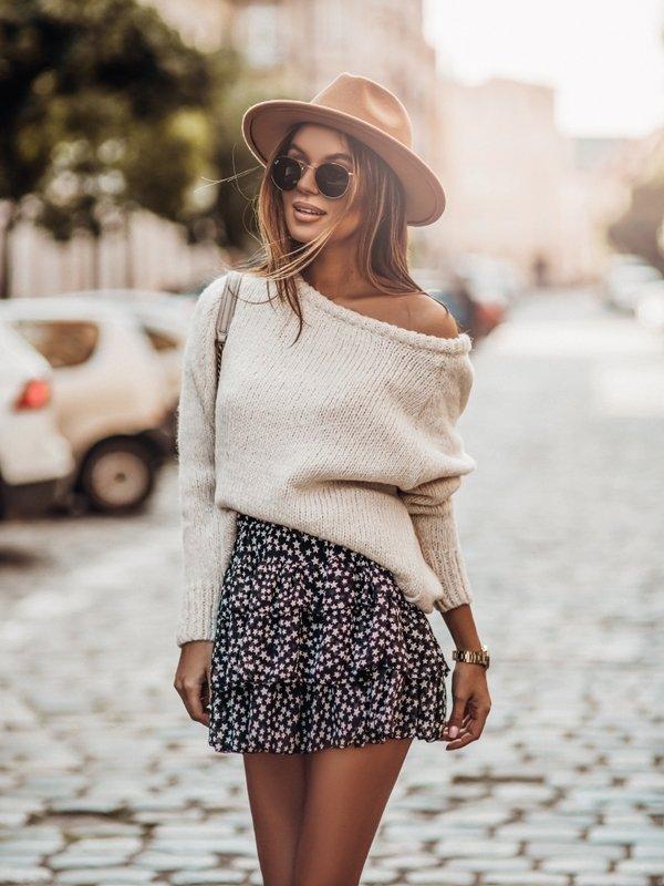 Sweter Dakota Kremowy