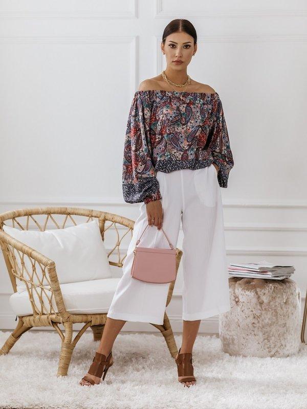 Spodnie Maroko Białe