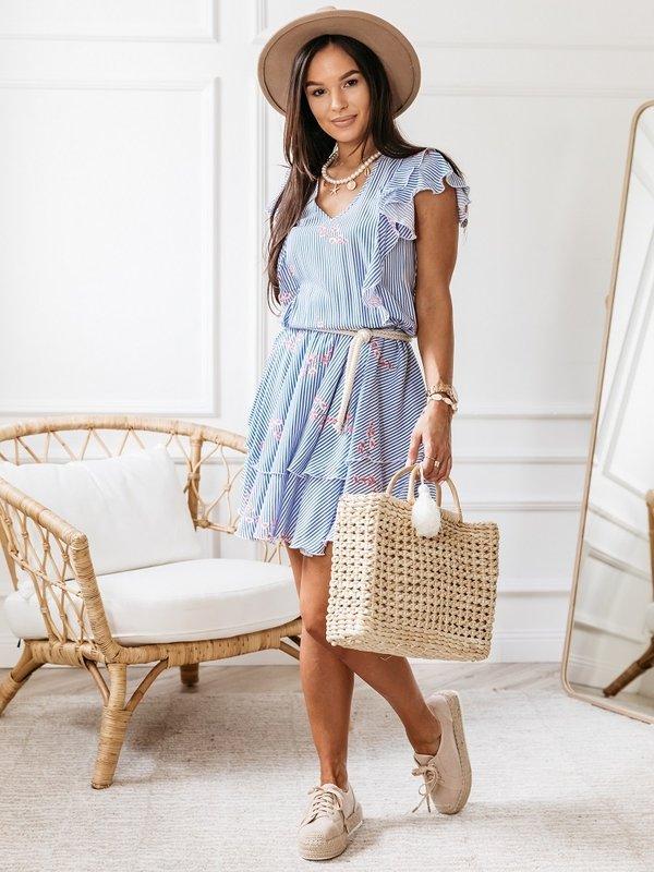 Sukienka Baho Błękitna