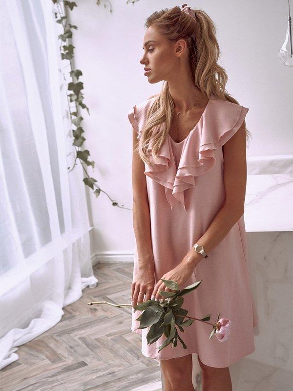 Sukienka Norie Różowa