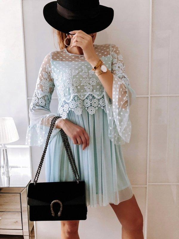 Sukienka Lyndia Błękitna