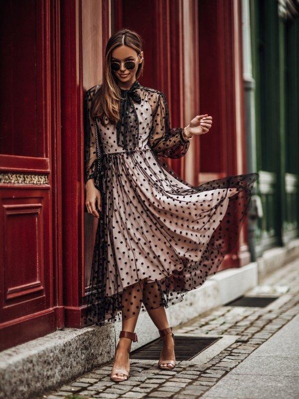 Sukienka Semi Czarna
