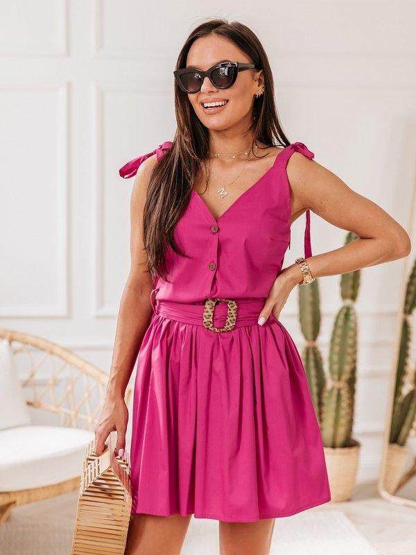 Sukienka Meganie Amarantowa