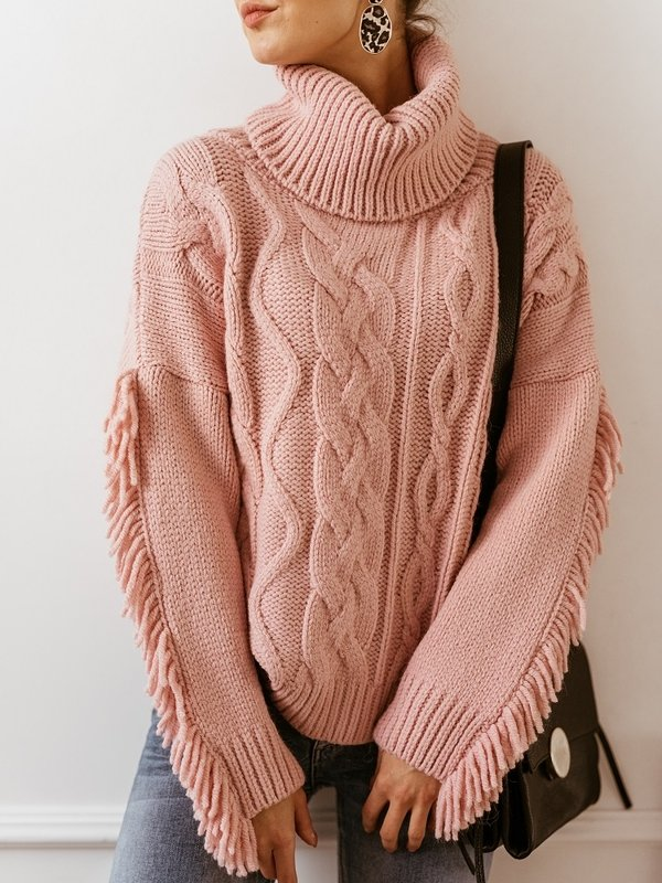 Sweter Cancun Pudrowy