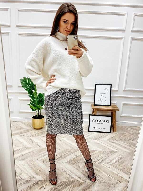 Sweter Levrone Kremowy